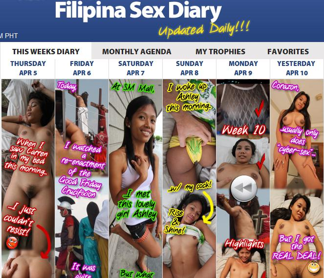 Filipina Sex Diary
