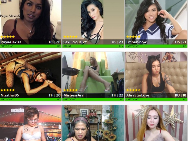 Asian Cam Queens